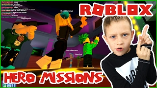 Going On Missions / Roblox Galaxy Heroes