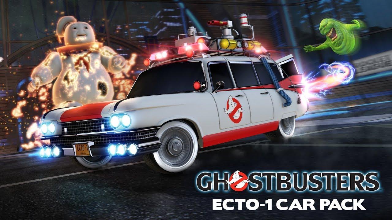 Rocket League® - Ghostbusters Ecto-1 Car Pack Trailer