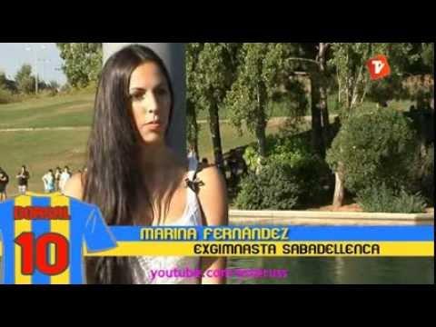 Entrevista a la gimnasta Marina Fernández tras su retirada