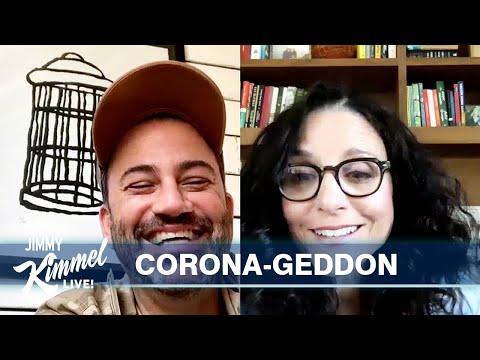 Jimmy Kimmels Quarantine Minilogue  Julia Louis-Dreyfus, Dumb Spring Breakers & Misleader Trump
