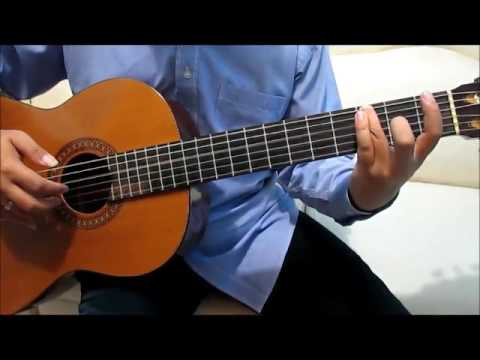Alan Walker Faded Guitar Tutorial No Capo - Guitar Lessons for Beginners