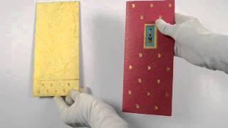 9019, Pink Color, Handmade Paper, Designer Multifaith Invitations, Birthday Invitations