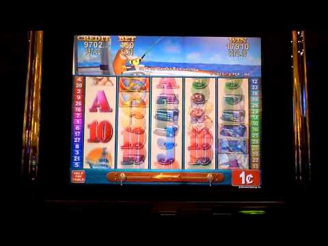 Prize Catch Nice Slot Bonus Win with Retrigger at Parx