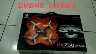 Unboxing Drone Hx750 (Bahasa Indonesia)