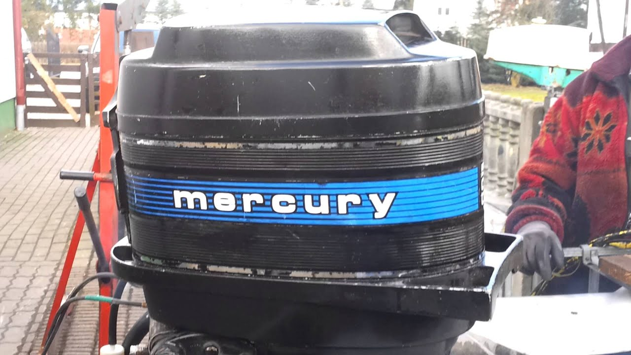 1978 mercury 50 hp outboard motor 2 stroke 2 suw after full service [ 1280 x 720 Pixel ]