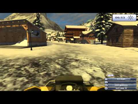 Game Play for Ski Region Simulator Gold first look