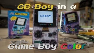 Can You Fit a GB Boy in a Game Boy Color?