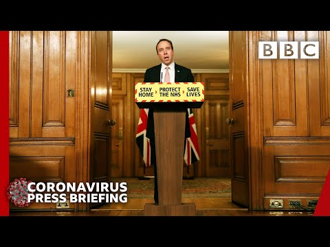 UK at 'worst point' as vaccine brings hope, Hancock 🔴 Covid-19 Briefing @BBC News live - BBC