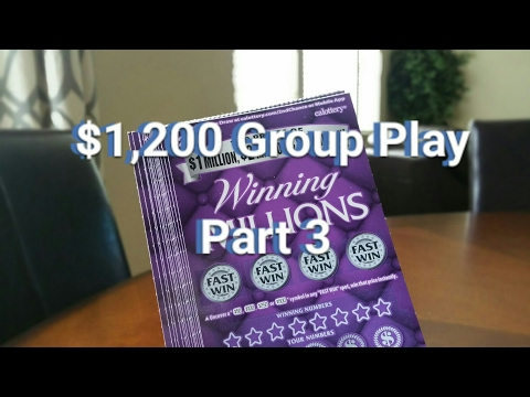$1,200 Winning Millions Group Play - Part 3 - Got 10X? Mail