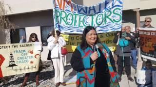 Tribal Delegates to BLM - Enough! Stop Chaco Sale! Clip 6