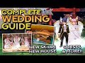 COMPLETE WEDDING GUIDE: Wedding Quest, New Skills, Wedding Dress, Honeymoon Room & More!