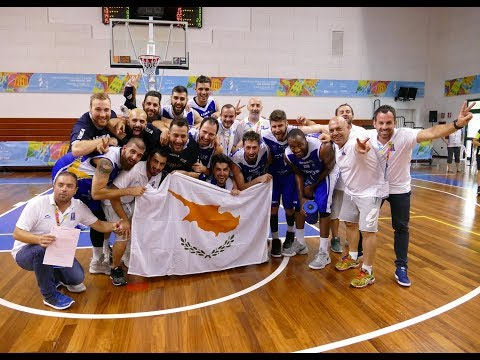 LIVE XVII GSCE   CYPRUS v ANDORRA  MEN'S BASKETBALL