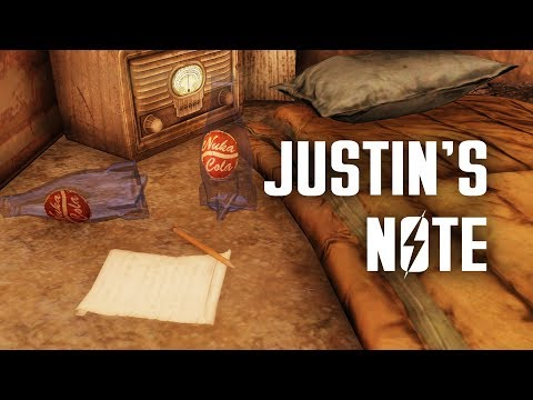 Justin's Note - Plus, a Post-Apocalyptic Review of Slocum's Joe - Fallout 76 Lore
