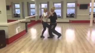 Урок танго, частный Эльвира М. с Жанной К.