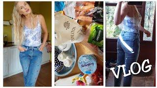 VLOG 22.08: Jeansy rozmiar 40 # Food Haul Biedronka