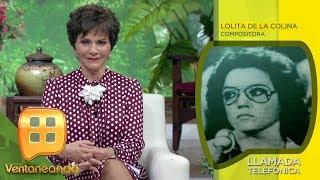 ¡Lolita de la Colina confirma que JOSÉ JOSÉ murió en un hospicio! | Ventaneando