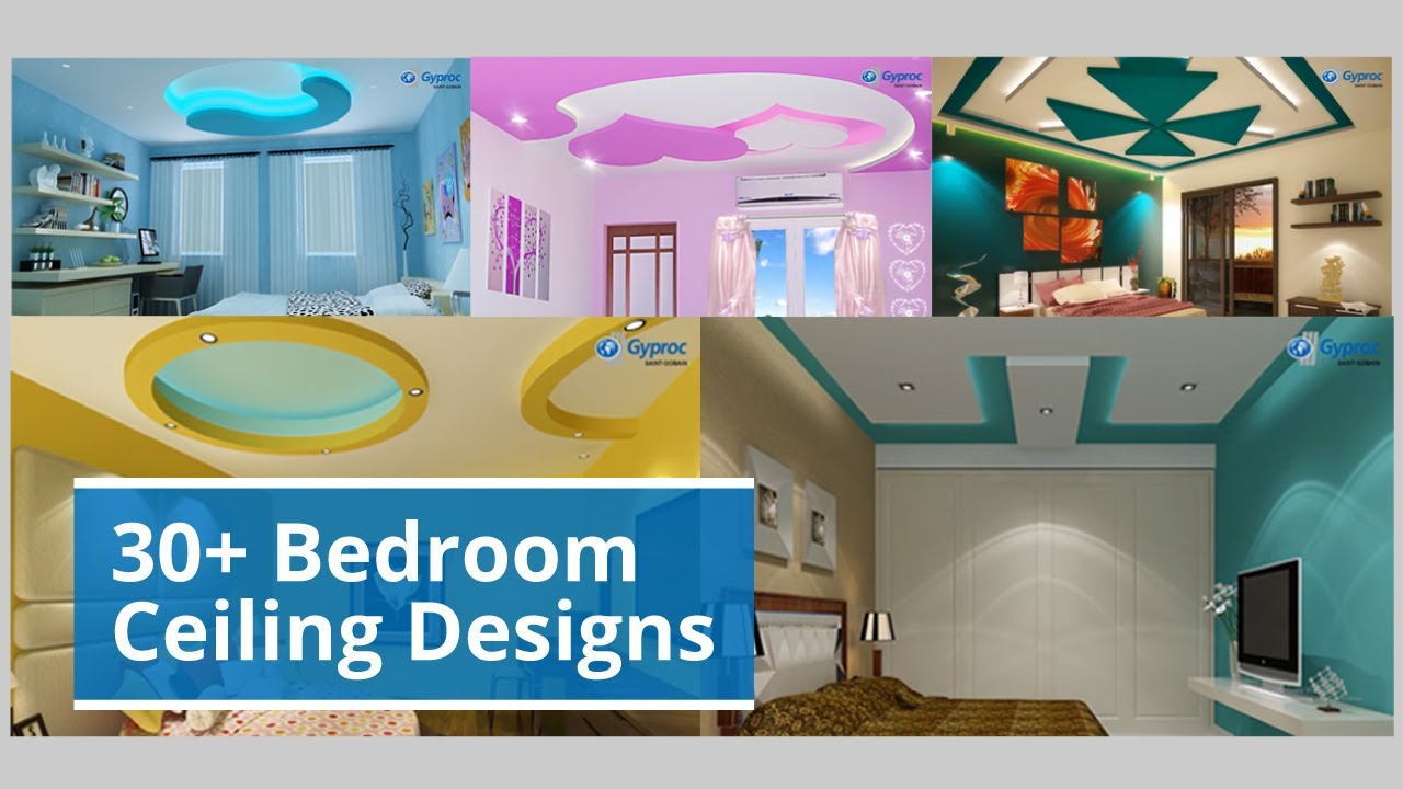 30 Bedroom Ceiling Design Inspiration For Your Spaces Youtube