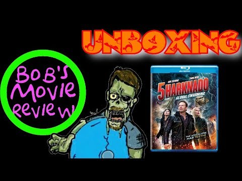 Sharknado 5: Global Swarming Blu-Ray Unboxing streaming vf