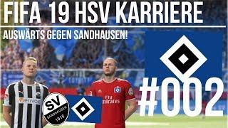 FIFA 19 HSV Karriere #002 - Auswärts in Sandhausen!