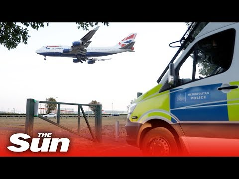 Bungling Heathrow drone protesters get signal JAMMED by police