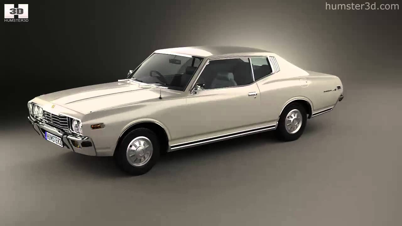 Datsun 260c Coupe 1976 By 3d Model Store Humster3d Com