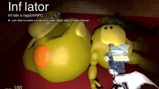 Gmod FNAF | The Inflator Tool!