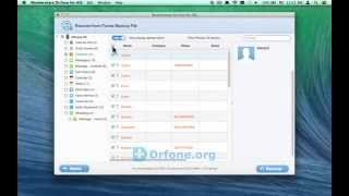 [iPhone 5C Contacts Recovery for Mac]: Retrieve iPhone 5C Contacts from iTunes Backup on Mac