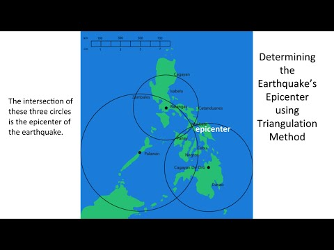 Determining the Earthquake Epicenter/Triangulation Method/MELC/Module 3