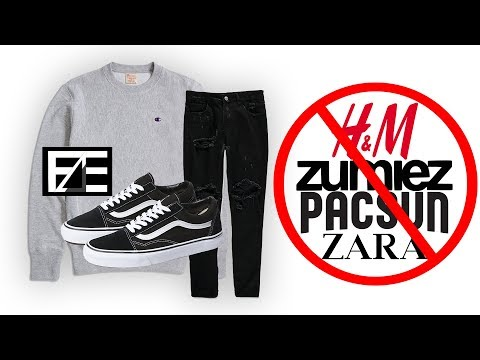 How To PROPERLY STYLE CHEAP STREETWEAR