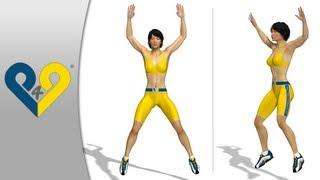 Jumping Jacks ( saltos con separación de las piernas )