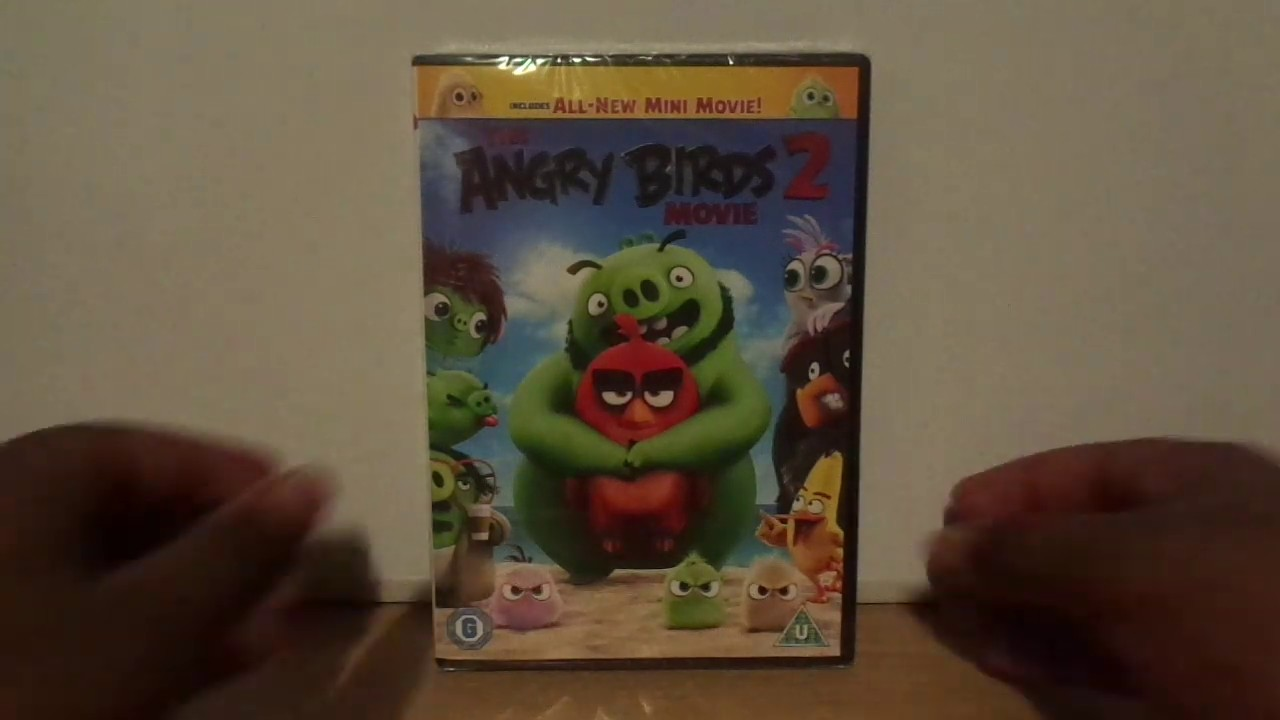The Angry Birds Movie 2 Uk Dvd Unboxing Youtube