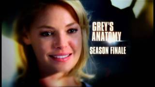 Grey's Anatomy extended season 5 finale promo