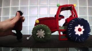 Музыкальный трактор и Васька-тракторист