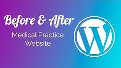 Before & After: Medical WordPress Website Redesign