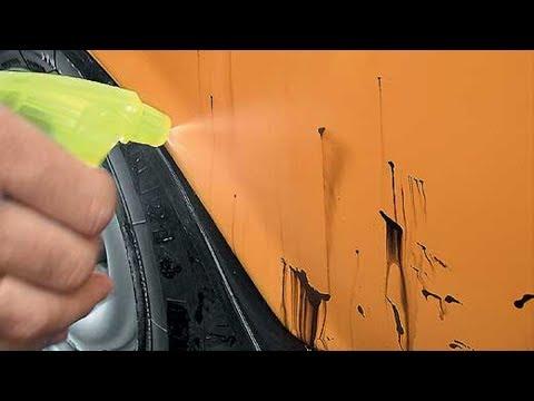 Как отмыть битум с машины