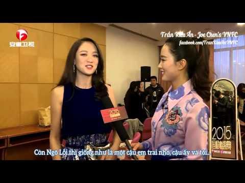 [Interview] Trần Kiều Ân nói về hình tượng của Cận Đông, Vương Khải, Ngô Lỗi (Vietsub)