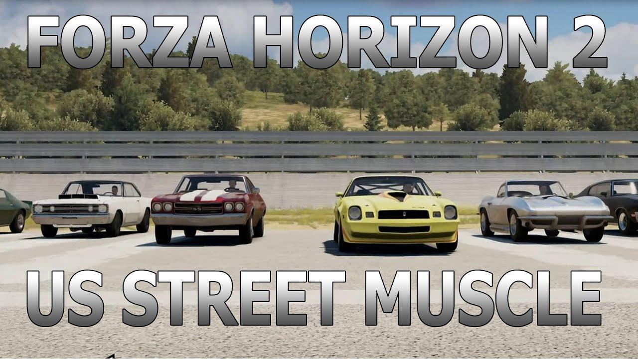 Forza Horizon 2 | Us Street Muscle w/The Slap Train + DUBSmb + All ...