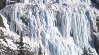 Самые красивые замерзшие водопады мира !(Если в тёплое время года водопады завораживают мощью льющейся с высоты воды, то в холодные зимние месяцы..., 2015-07-29T15:00:41.000Z)