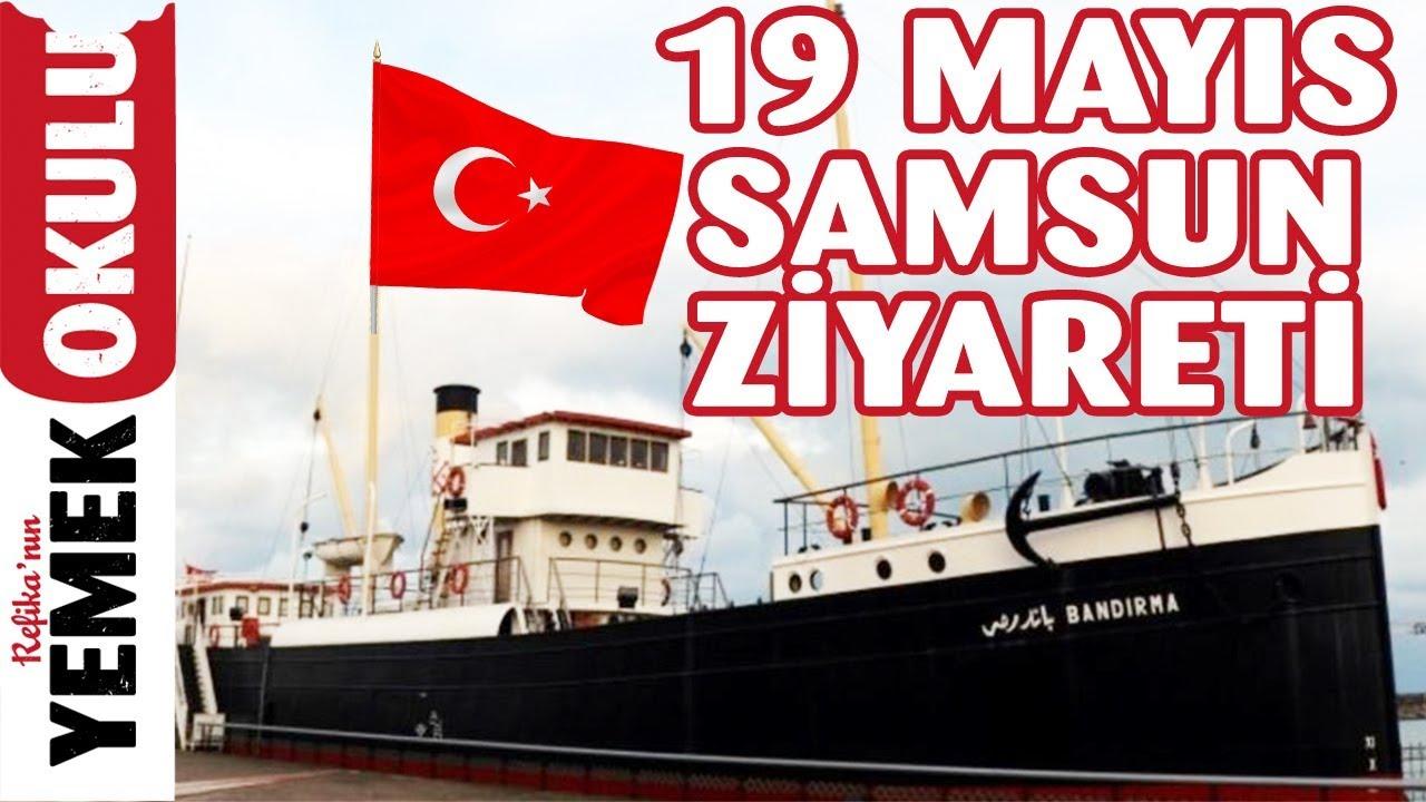 19 Mayıs Samsun Ziyareti | Doğum Günümde Atatürk'ün İzinde Samsun'a Çıkışının 100. Yılı Kutlamaları
