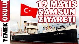 19 Mayıs Samsun Ziyareti Doğum Günümde Atatürk'ün İzinde Samsun'a Çıkışının 100 Yılı Kutlamaları