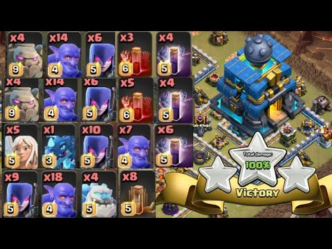WITCH SLAP- Best Th12 War Attack Strategy For 3 Stars In Clash Of CLans