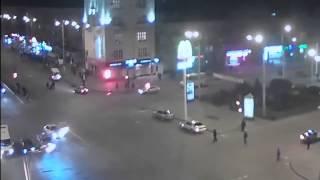 ДТП в Запорожье, Слежение с веб камер(, 2014-03-15T09:35:22.000Z)
