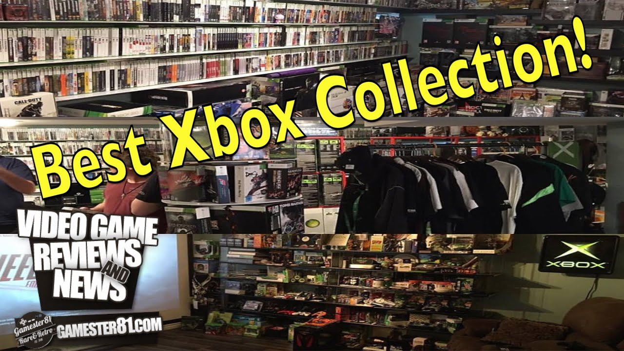 The best Xbox collection ever! - Gamester81 : LightTube