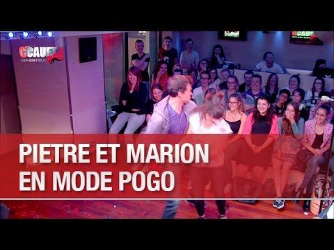 Piètre et Marion en mode Pogo - C'Cauet sur NRJ