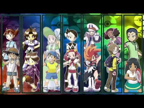 All Pokémon Trainer Battle Themes [GEN 1-7]