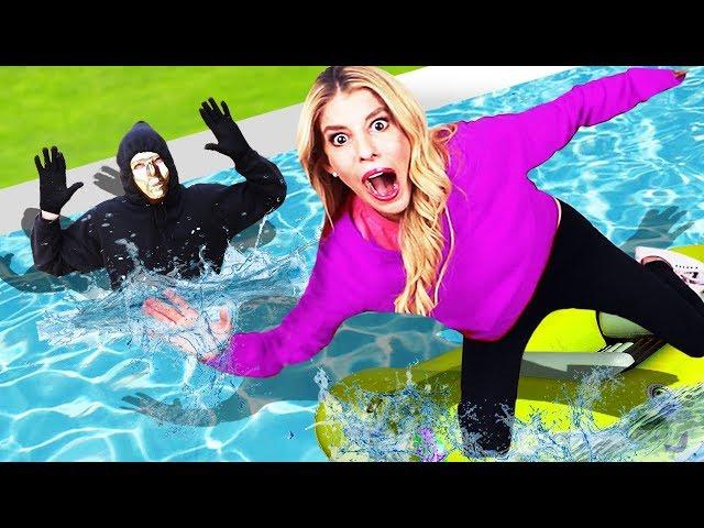 Last To Sink Wins $10,000 Challenge (Game Master Clues vs Ninja Spy Gadgets)