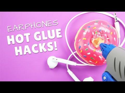3-cool-earphones-holders-made-with-hot-glue-|-hot-glue-gun-life-hacks