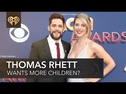 Gina - iHeartCountry: Thomas Rhett Wants More Children?