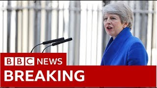 May making last statement as PM - BBC News