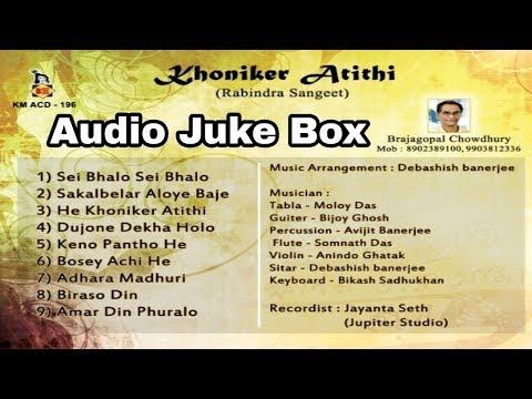 khoniker-athithi-|-ক্ষনিকের-অতিথি-|-non-stop-rabindra-sangeet-|-brajagopal-chowdhury-|-krishna-music